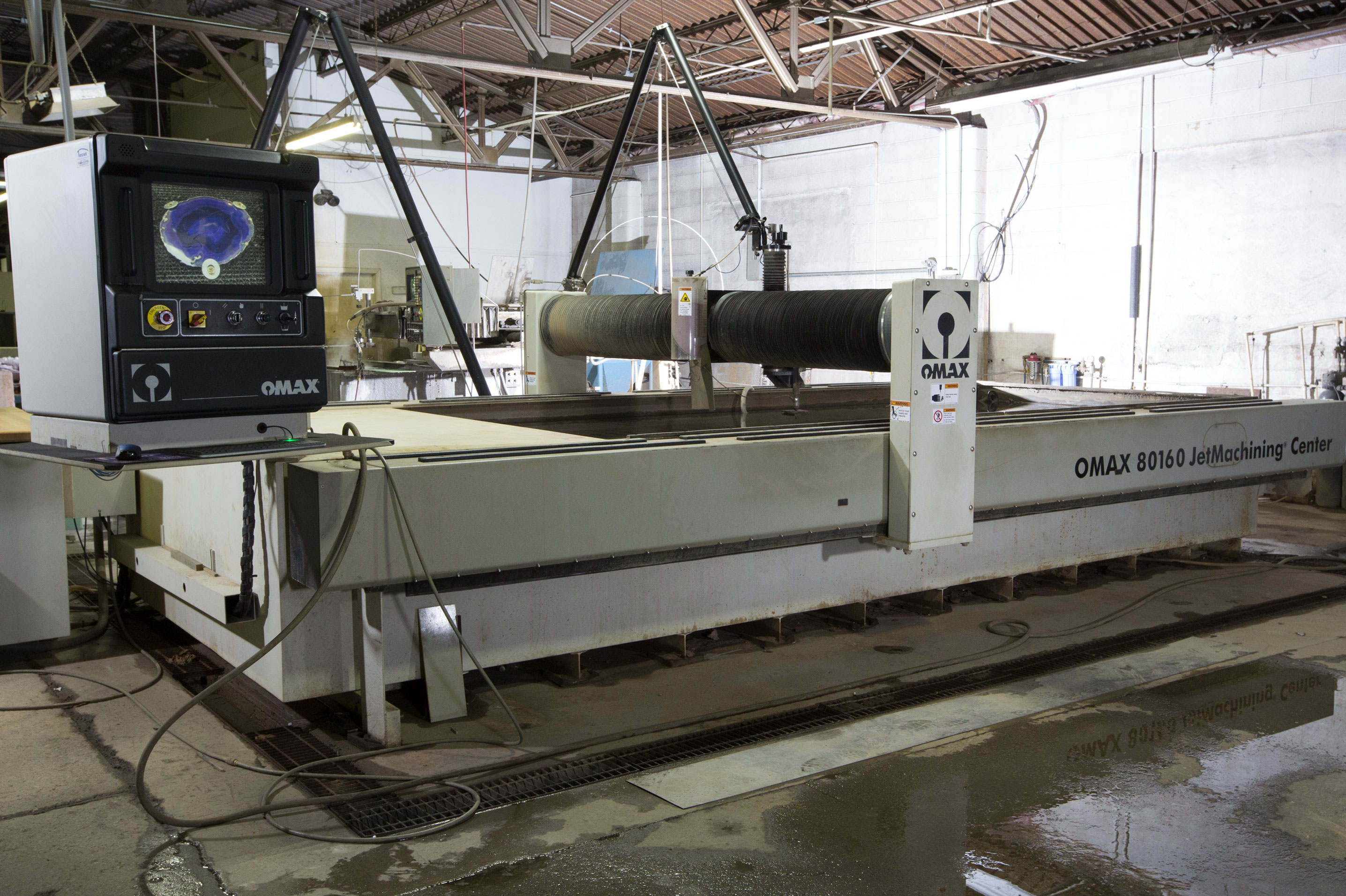 Ellis Engineering Professional Waterjet Cutting